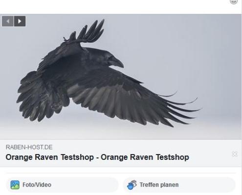 Facebook Vorschau mit falschem Bild