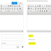 Meta Angaben Produkt und Kategorienseite